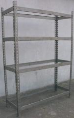 Trade metallic shelving
