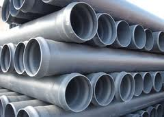 Pipes from stainless steel with a bell