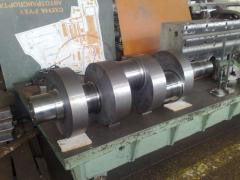 Shaft crank for compressors and pumps