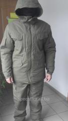 The Battalion commander suit is warm