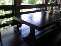 Tables wooden by individual orders