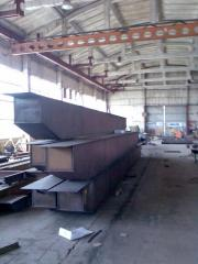 Production of flying beams