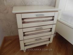 Bedside table oak bedside to order