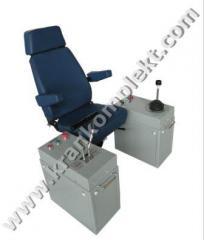 Chair panel, Control panels crane