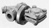 Thermostatic kondensatootvodchik with the balanced