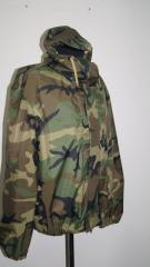 The suit tactical camouflage rubberized, ...