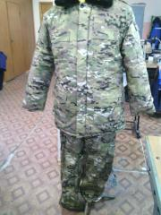 Winter suit multicap