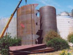Резервуар вертикальный стальной рвс-5000м.куб