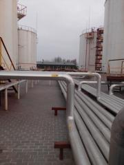 Резервуар вертикальный стальной рвс-700м.куб