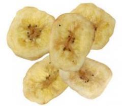 Dried bananas, chips banana
