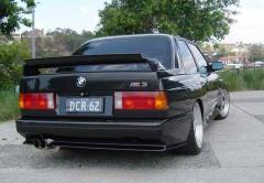 Spoiler of BMW E 30 M 3 adjustable.