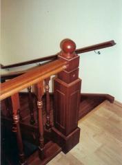 Перила для лестниц дуб