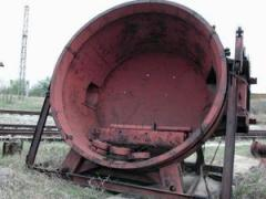Arc steel-smelting DSP-6 electric furnace