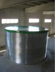 Tanks for sunflower oil