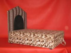 Upholstered furniture for pets