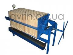 Line filtration of vegetable oils, P-3
