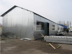 Изготовливаем и монтируем АЗС, складские помещения