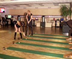 Minigolf, mobile compact City Golf systems