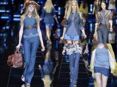 Одежда джинсовая итальянских дизайнеров
