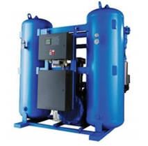 The equipment on purification of compressed air