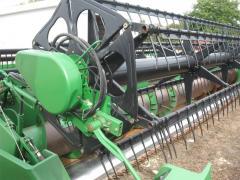 Harvester of John Deere 925F