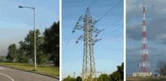 Опоры линий электропередач (ЛЭП)