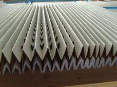 Cardboard filter