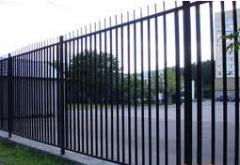 Protection fences from the producer Plant of a