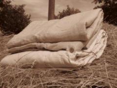 Одеяло льняное полуторное