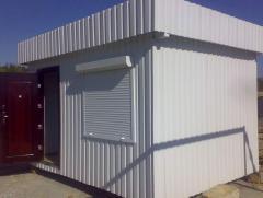 Производим модульные здания, домики из