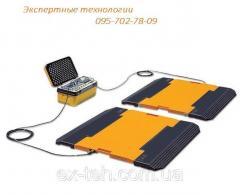 Scales automobile podkladny CAS RW-10P to 10 t