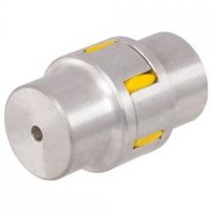 The coupling with elastomeric insert, from aluminum