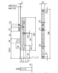 Dead lock 16215.25 electromechanical crossbar and