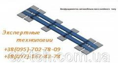 Scales automobile besfundamentny the-track Axis