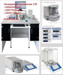 The stand for calibration of automatic pipettes of