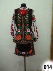 Украинская сценическая одежда (центральная