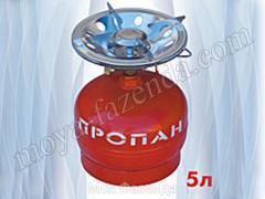Kerosene stove Camping of 5 liters, tourist on