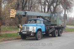 Услуги автокрана в Запорожье