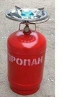 Gas cylinder with a torch Ukraine (R-19 code)