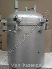 The autoclave for conservation Ukraine (R-36 code)