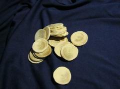 Срезики круглые диаметр 30-50 мм (упак.100 шт)
