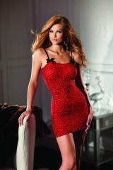 Леопардовое мини платье  BeWicked