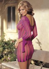 Pink mesh Shirley of Hollywood dress