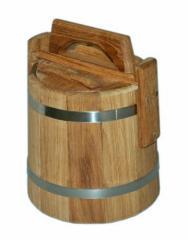 Tub for salting of oak 10 l