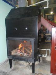 Fireplace of water-heating 12 kW of TM...