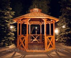 "Wooden arbor of ""Amelie"