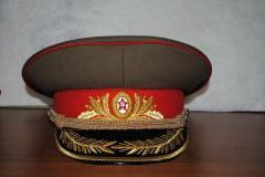 Фуражка Гениральская парадная СССР производство
