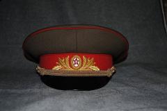 Генеральская фуражка СССР, Фуражки форменные от