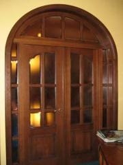 Doors are wooden carved, Doors wooden carved to