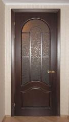Двери из натурального дерева тип 1